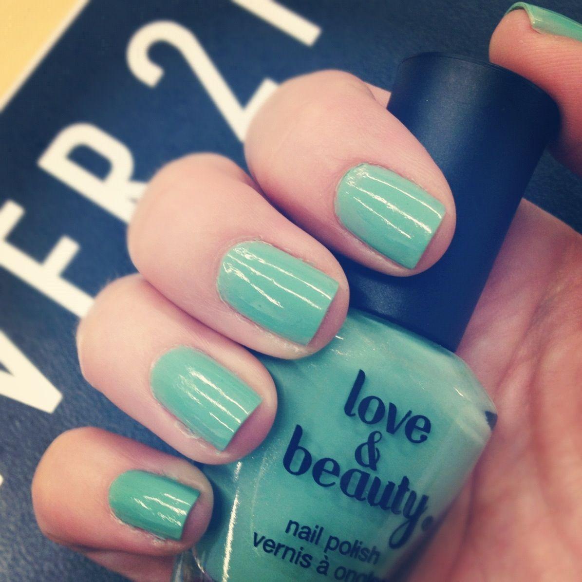 #avocado nails by Love & Beauty $2.80! Shop nail polish here: http://bit.ly/A0uoM9