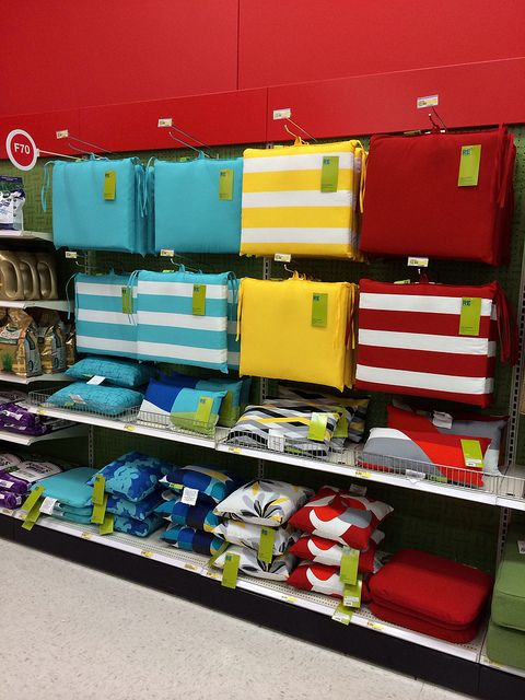 Target: 2014 Outdoor Furniture Cushions #pillows #design #colors #trends