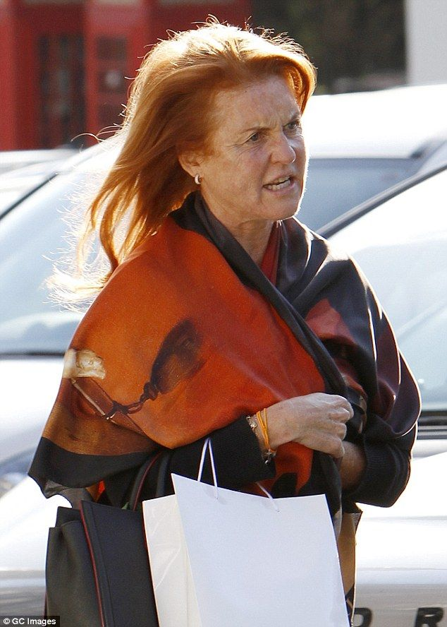 Bought too much, Fergie? Duchess of York struggles with ... Fergie Duchess Of York
