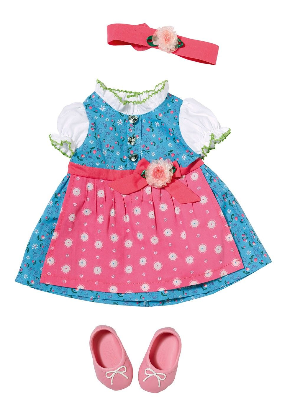 Pin By Alicja On Baby Born Dirndl Fashion Doll Clothes