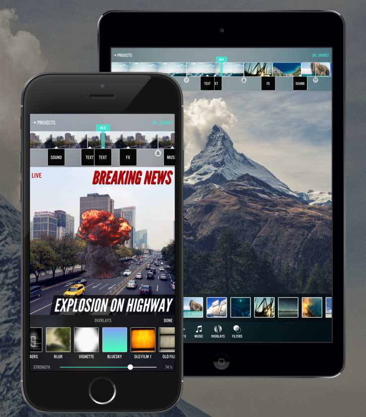Videorama Makes Editing Mobile Video Actually Fun Techcrunch Mobile Video Free Business Tools Video