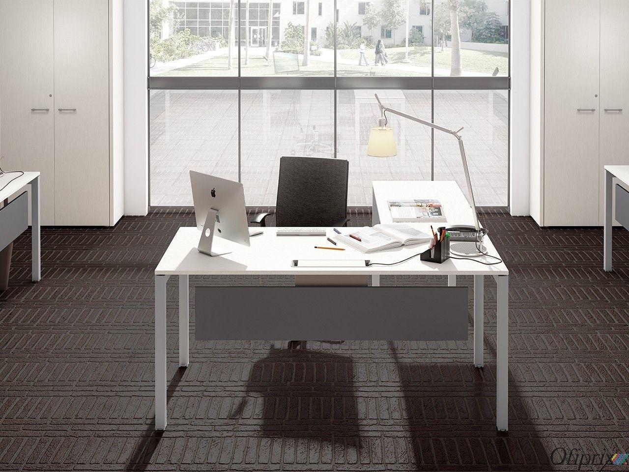 Mesas de Oficina Modernas - Serie Kubika en 2019 | Mesas de oficina ...