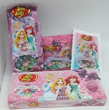 Jelly Belly Disney PRINCESSES 4-Piece Jelly Bean Gift Set w/ Gift Box