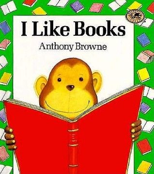 I like books by Anthony Browne - beautiful book with amazing illustrations that match succinct story line. Image found on Goodreads website.
