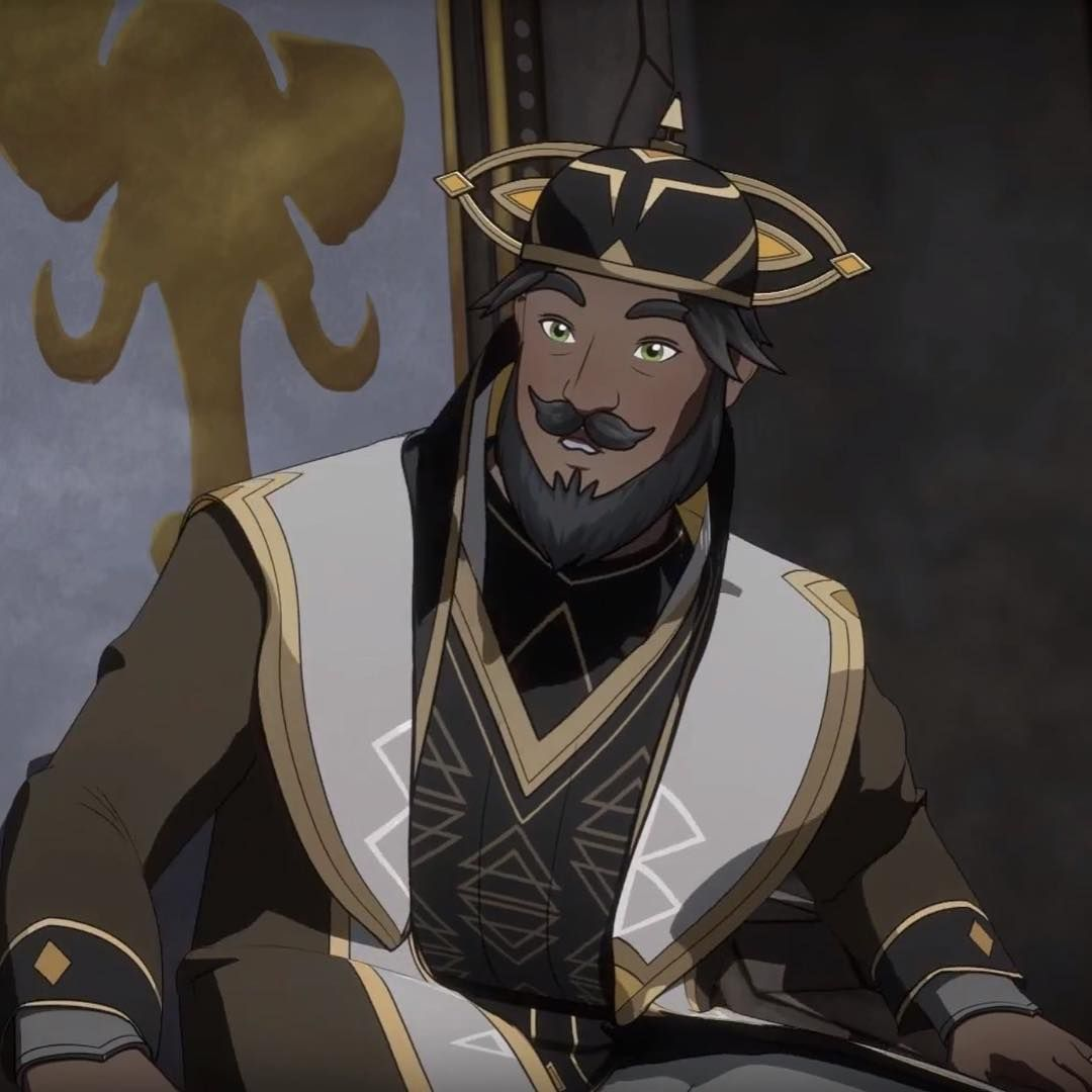 The Dragon Prince On Instagram King Ahling Leads Neolandia A Harsh Desert Land In The Human Kingdoms A Constant Struggle To Obtai Dragon King Dragon Prince