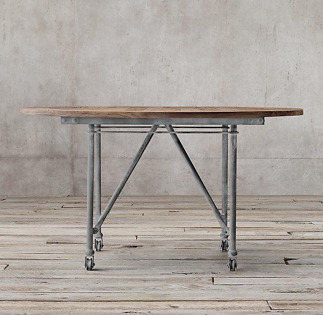 Flatiron Round Dining Table images