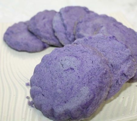 Ube Shortbread Cookies The Cookie Jar In 2018 Pinterest