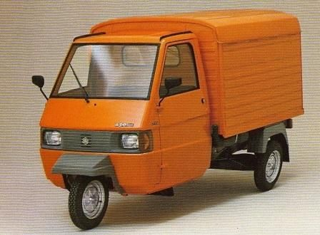 triporteur piaggio ape tm p602 alternatief vervoer pinterest piaggio ape vespa and vespa ape. Black Bedroom Furniture Sets. Home Design Ideas