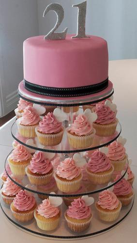 21st cake cupcakes party anniversaire decoration gateau anniversaire garcon - Decoration cupcake anniversaire ...