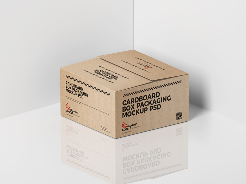 Free Cardboard Box Packaging Mockup Psd Graphic Google Tasty Graphic Designs Collectiongraphic Google Tasty Packaging Mockup Free Mockup Mockup Free Psd