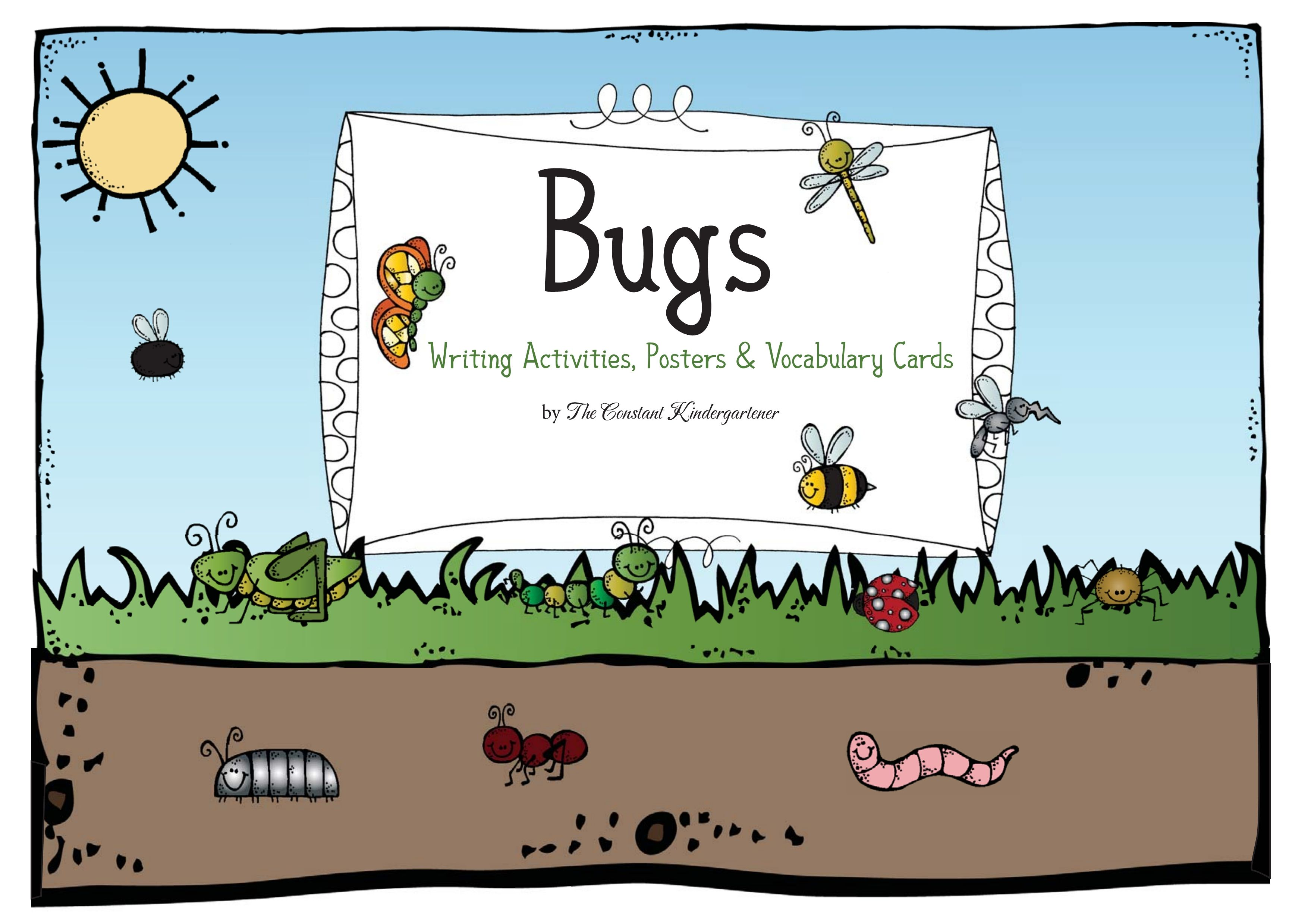 A Mini Unit About Bugs For Pre K And Kindergarten With