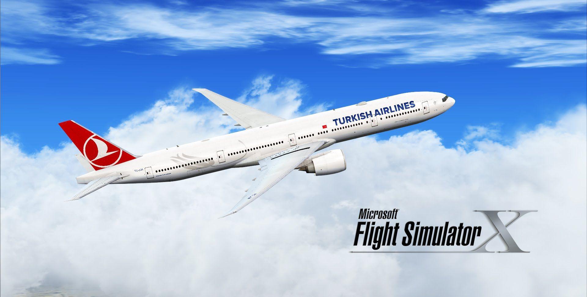 Fsx Turkish Airlines Boeing 777 300er Boeing 777 Turkish Airlines Boeing
