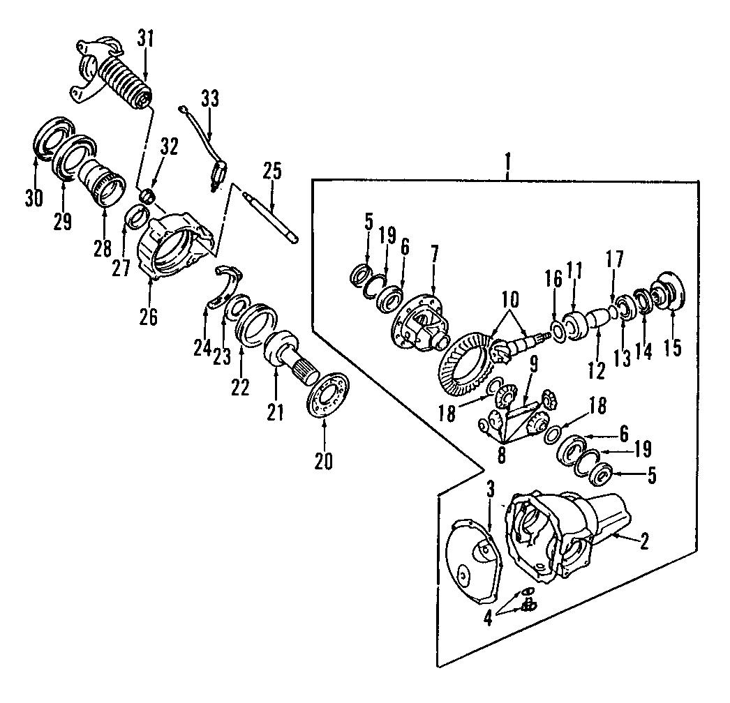 Gm 10 Bolt Front Axle Diagram