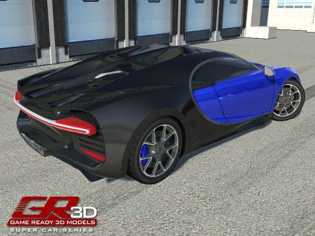 GR3D Super Car 083017SSPC | 3D Land | Unity Asset Store