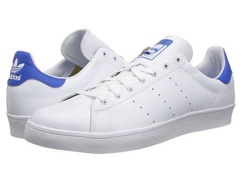 new product da107 5ea99 adidas Skateboarding Stan Smith Vulc Core White/Bluebird ...