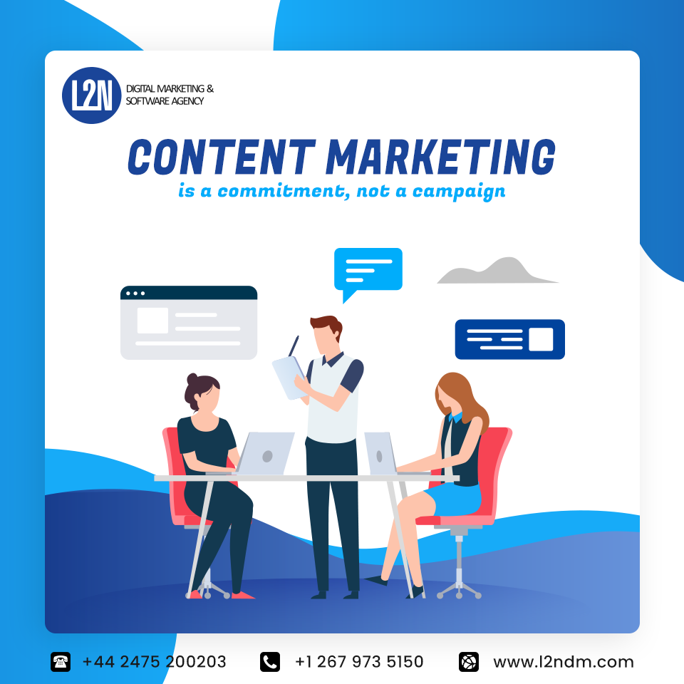 Content Marketing Is A Commitment Not A Campaign Content Marketing Web Marketing Agency Digital Marketing Agency