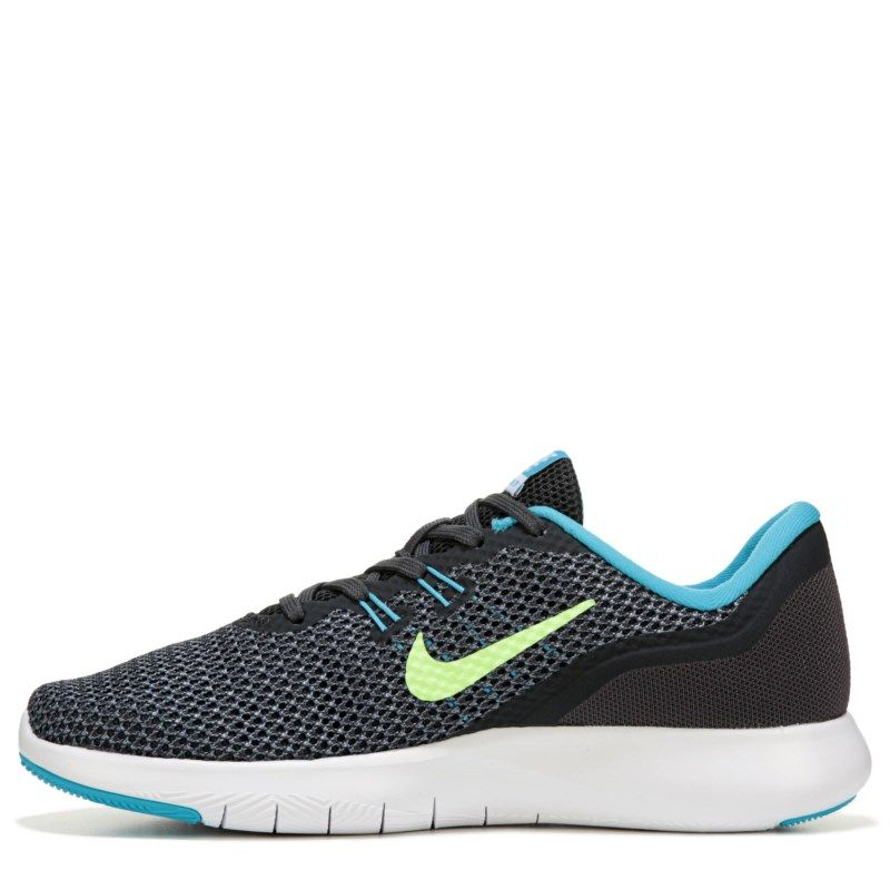 43407f3e6584a Nike Women's Flex Trainer 7 Training Shoes (Anthracitegreenblue) - 10.0 M
