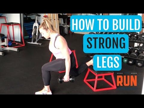 leg strength training for runners  how to build strong