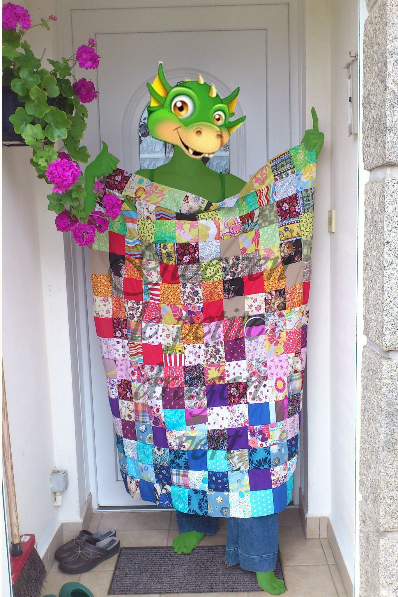 Tuto: Couverture patchwork facile à réaliser - DIY couture - le coffre de Scrat et Gloewen ...