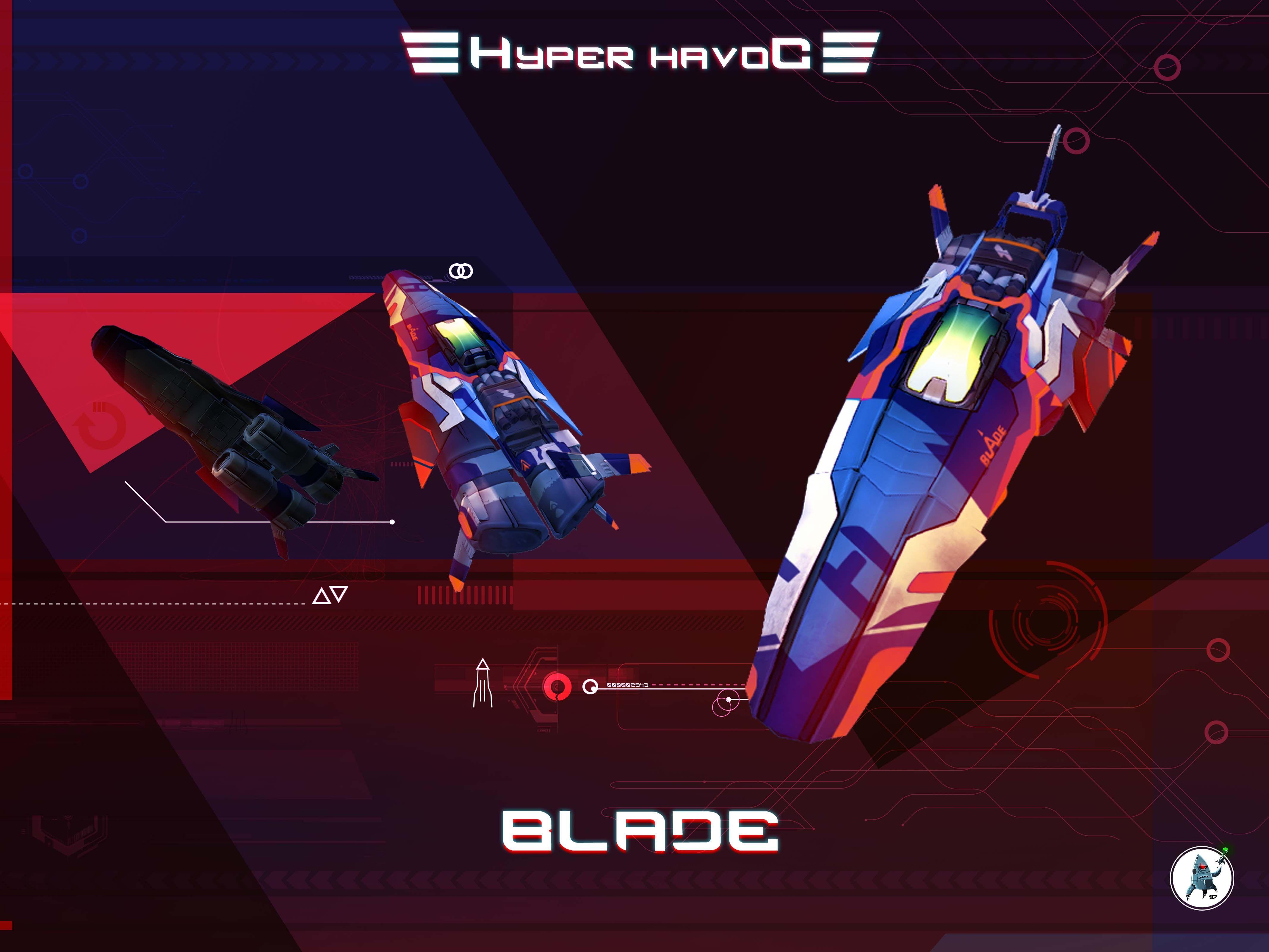 Hyper Havoc Blade Spacecraft