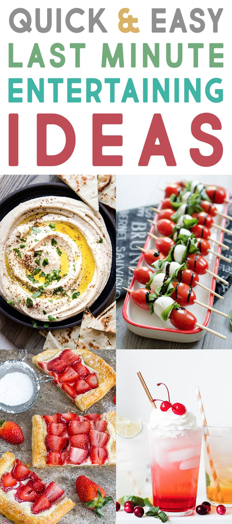 Quick And Easy Last Minute Entertaining Ideas The Cottage Market Quick Easy Meals Easy Meals Light Recipes