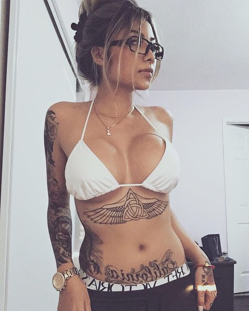 Busty tattooed women