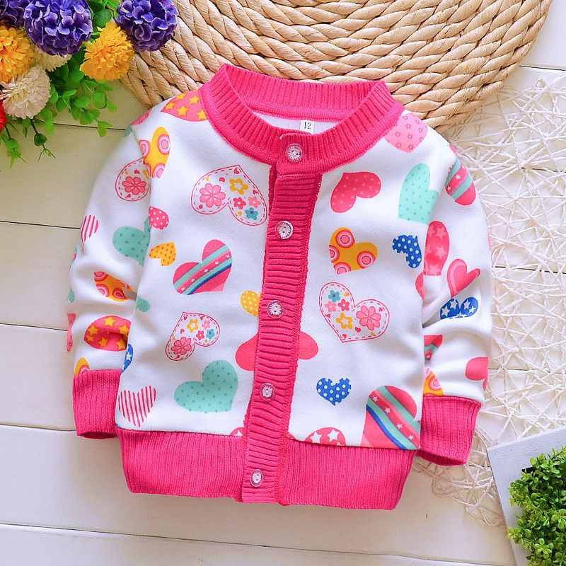 c7081522a BibiCola 2017 Autumn Winter Baby Sweater Plus Velvet Warm Long ...
