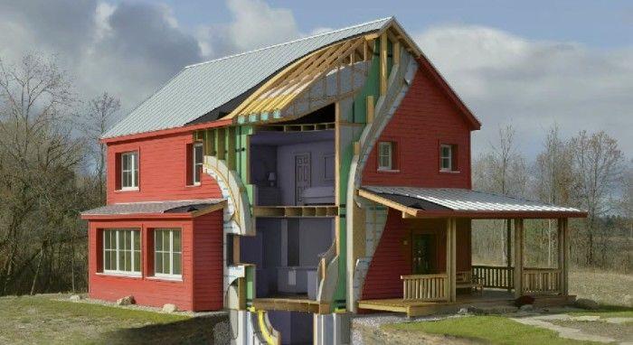 go logic 1,500sf go home prefab home model - image cut away showing