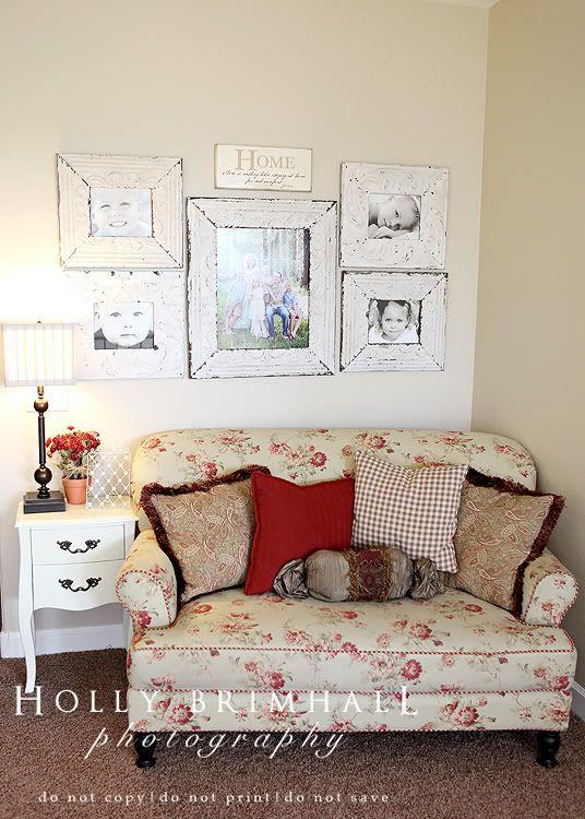 picture arrangement and frames
