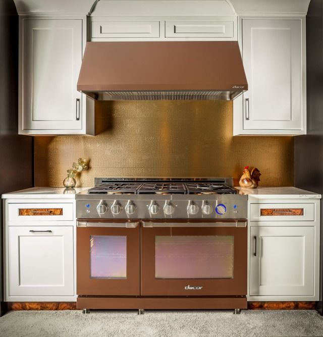 16 Rose Gold And Copper Details For Stylish Interior Decor: Cooking With Gas In 2019