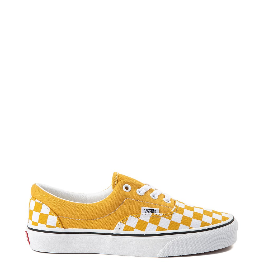 Vans Era Checkerboard Skate Shoe - Yolk