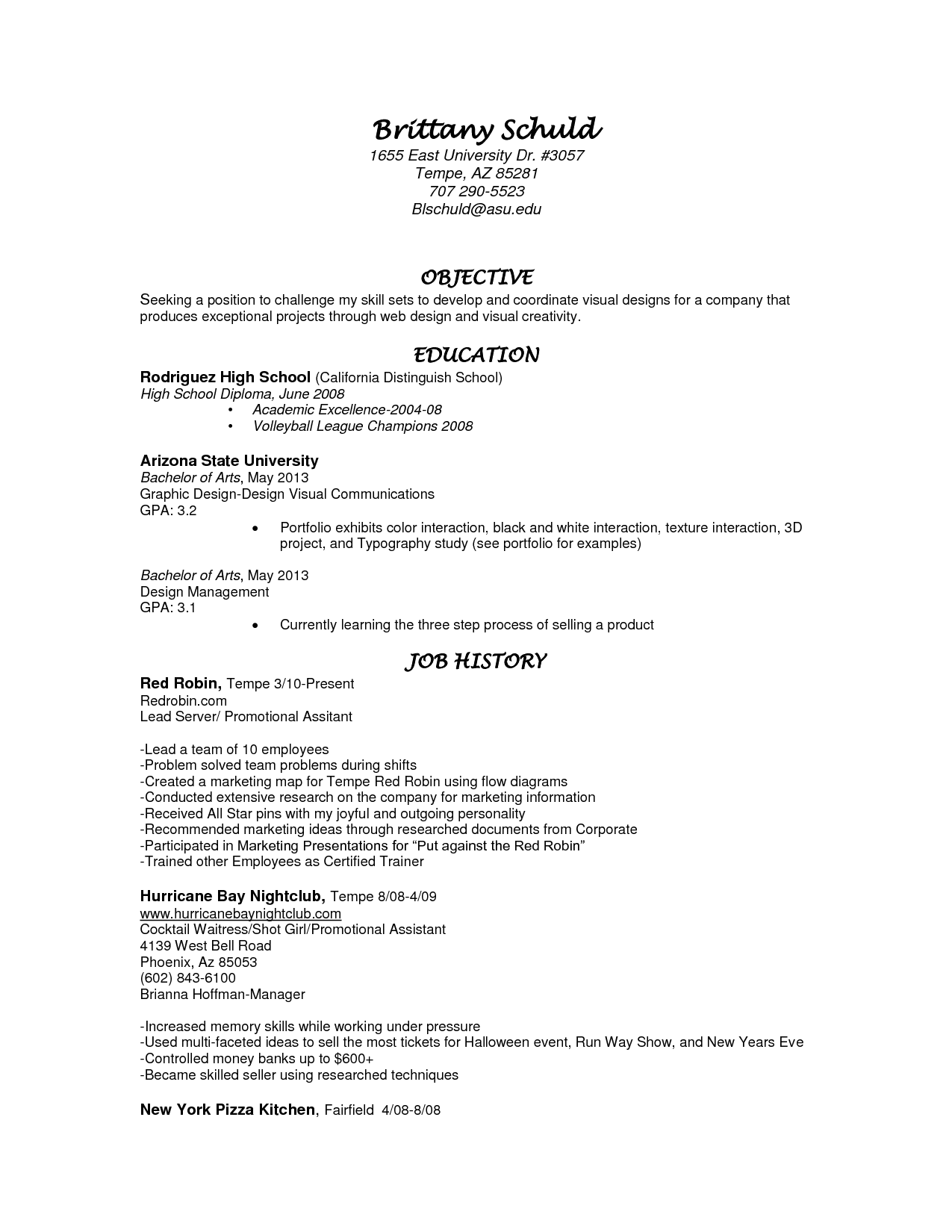 Cover Letter Examples Waitress Well Written Essay Waiter For