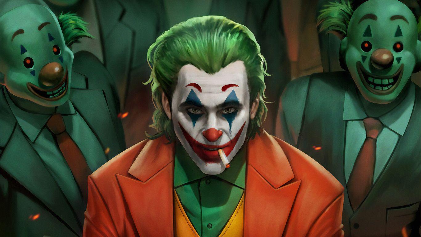 Joker Movie Art 4k In 1366x768 Resolution Joker Hd Wallpaper Joker Wallpapers Movie Art