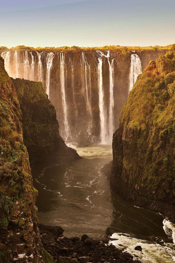 Victoria Falls, Zimbabwe & Zambia border