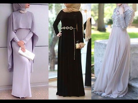 d852ba990 Dresses and Wear Party Hijab Styles | Hijab Evening Clothes | فساتين ومل.