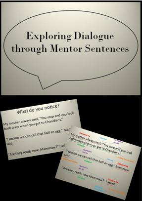 Use this presentation lesson to teach Dialogue  FREEBIE