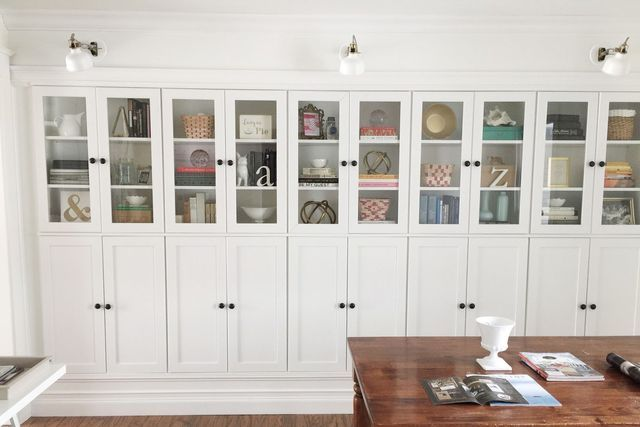 Credenza Borgsjo Ikea : How to use ikea billy bookcases in unusual ways ideas