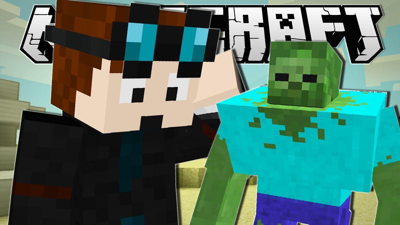 Minecraft  MINI MUTANT ZOMBIE!!  Custom Command  Mutant