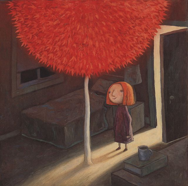 Shaun Tan's Red Tree, a beautiful book, and amazing stage production!
