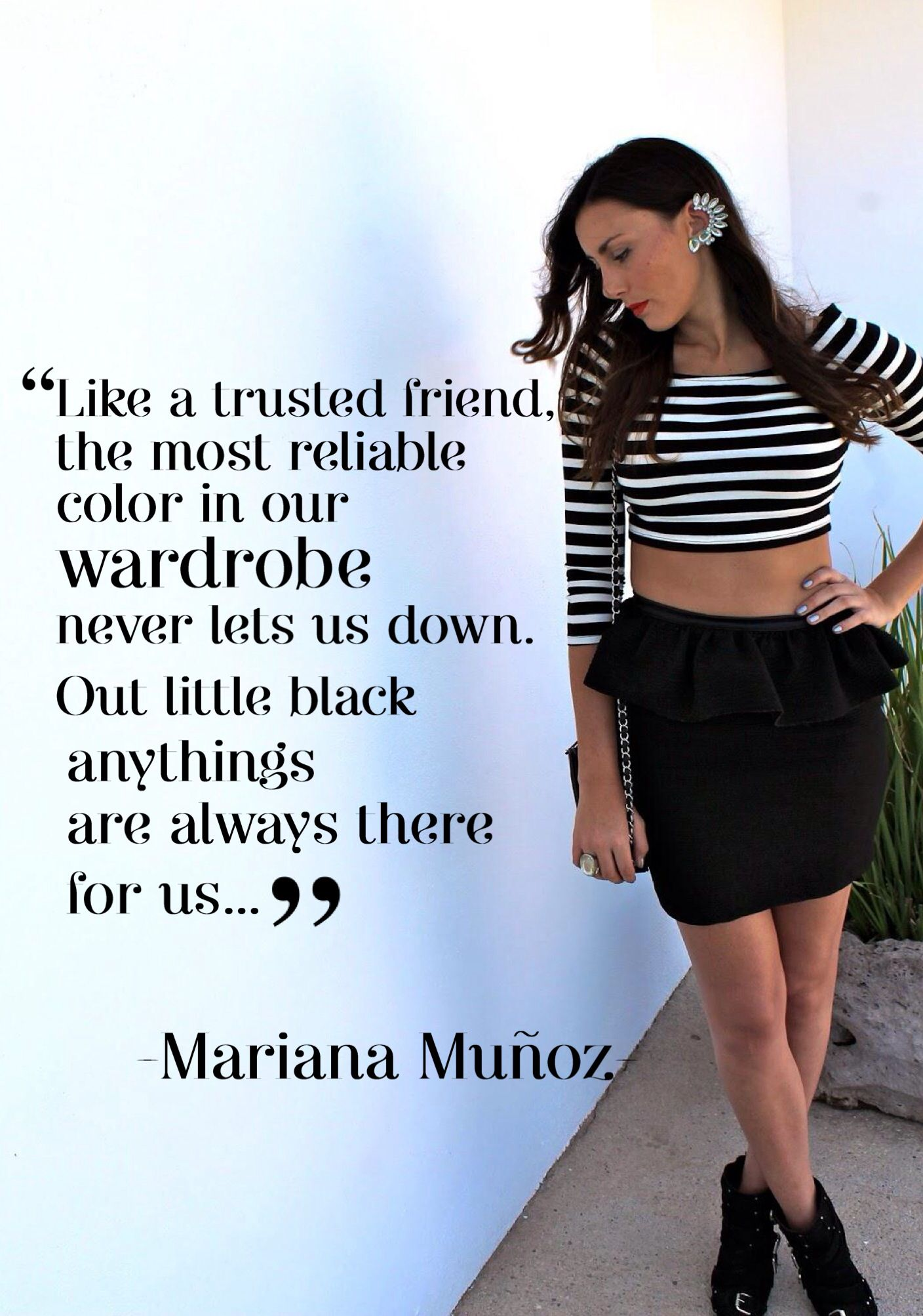 Fashion Quote Mariana Muñoz