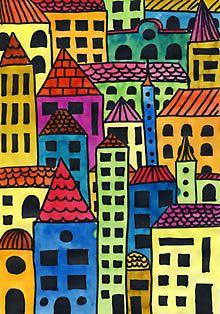 mega city im mittelalter malen pinterest schule erziehung und malen mit kindern. Black Bedroom Furniture Sets. Home Design Ideas