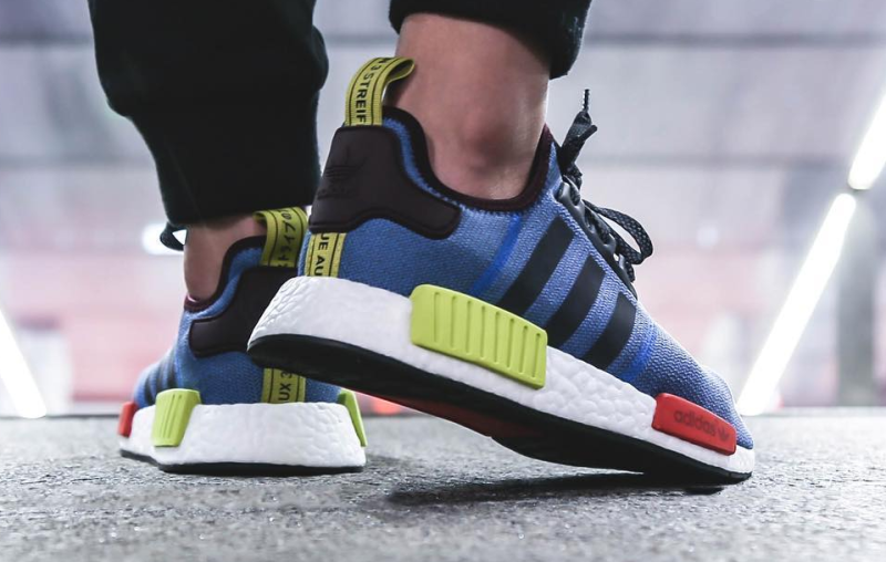 Get The adidas NMD R1 Tri Color Black After Christmas Too