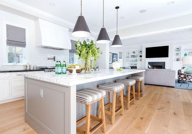 Modern California Style Kitchen Image Collection - KITCHEN ISLAND ...