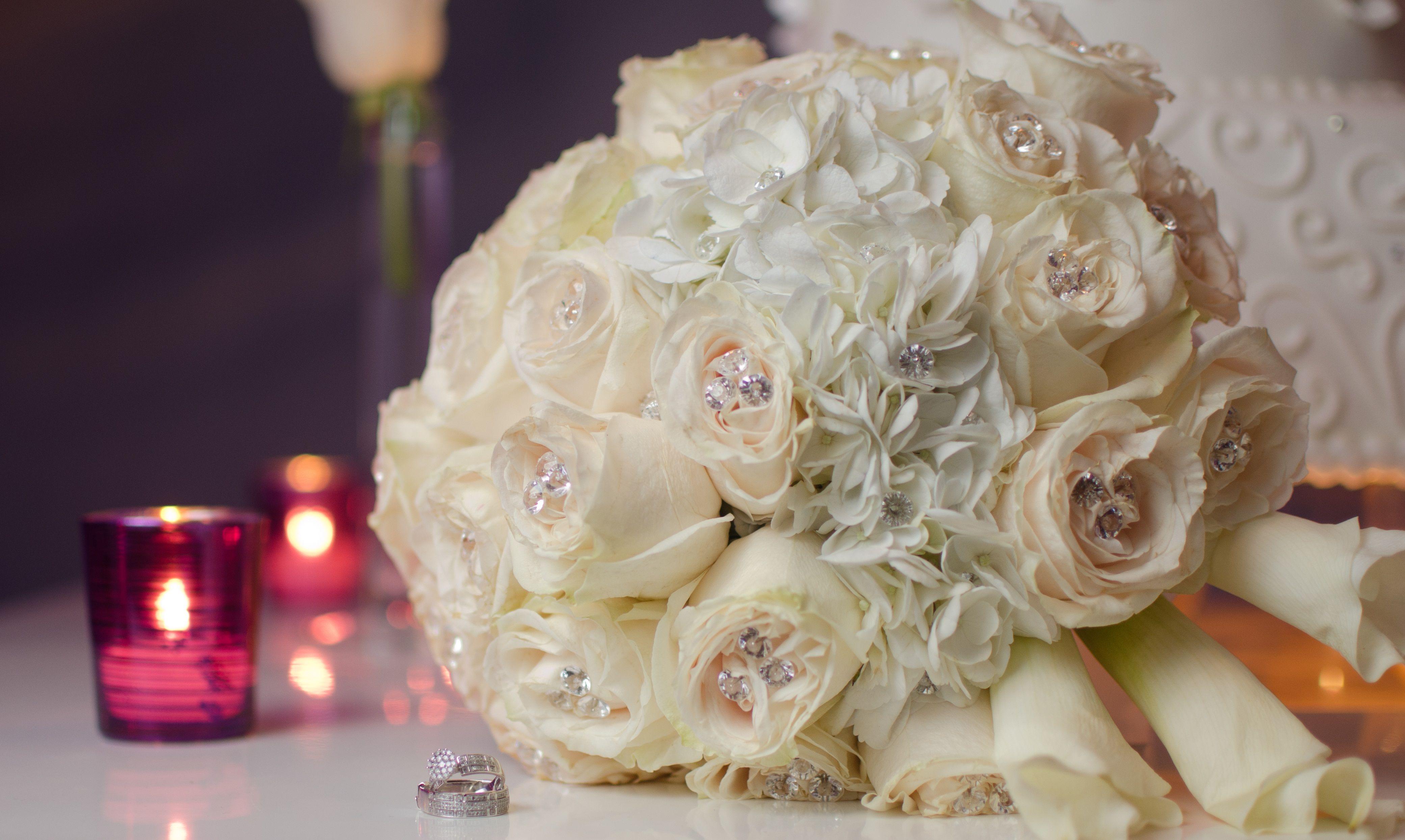 My Beautiful Bouquet & Wedding Rings