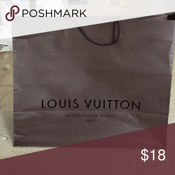 "Louis Vuitton Shopping Bag Louis Vuitton large shopping bag 19"" X 16"" Louis Vuitton Bags Cosmetic Bags & Cases"