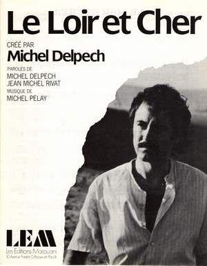 Le Loir Et Cher Chanson : chanson, REMISES:, Particuliers, Marchands, Michel, Delpech,, Cher,, Partitions, Chansons