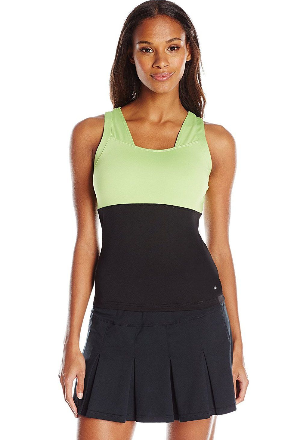 8430b3078e6fa Bollé Women s Twist of Lime Raceback Tank Top with Bra  Buy Now from Amazon
