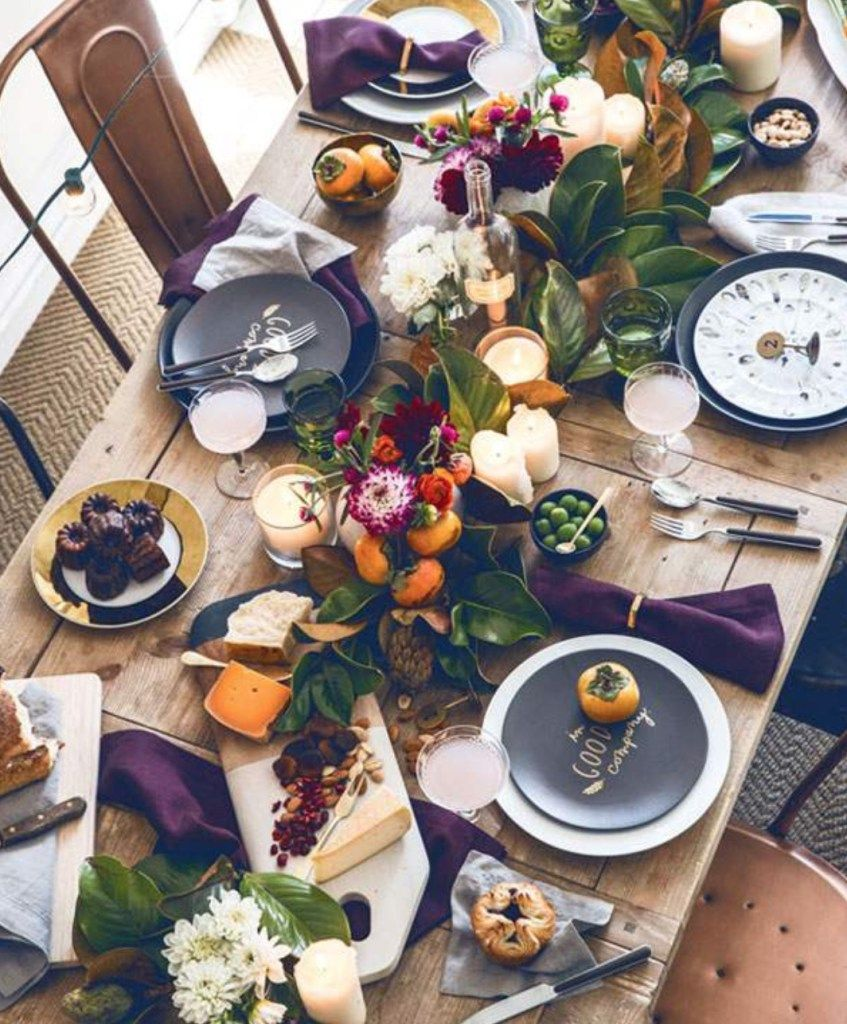 Set The Mood For Everything: DINING, Set The Mood With Your Table Setting
