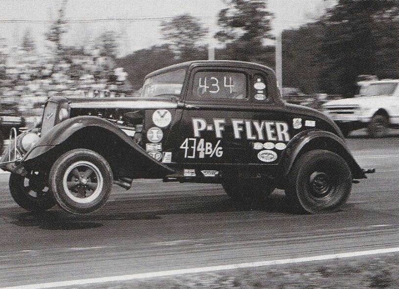 Funny Car Gas Monkey Garage : P f flyer ford coupe early gassers pinterest