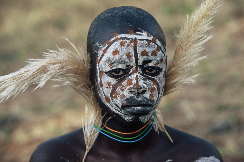 Afbeeldingsresultaat voor body paint africa style